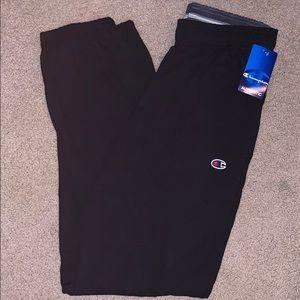 New Black Champion size medium sweatpants